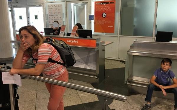 ВМюнхене украинская авиакомпания непустила наборт семью сбилетами