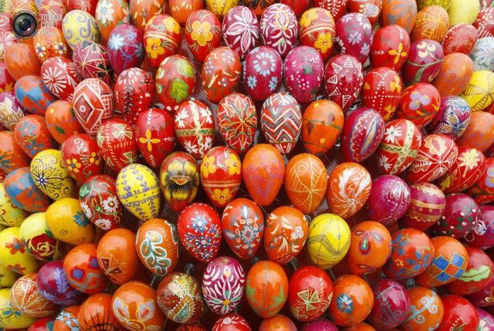 Пасхальные яйца  разных стран (35 фото)