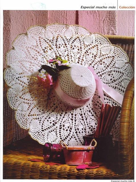 Схемы летних шляп крючком. Часть 2