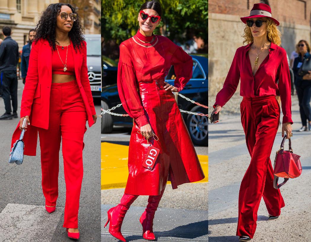 Модный total look - 40 примеров на модных блогерах