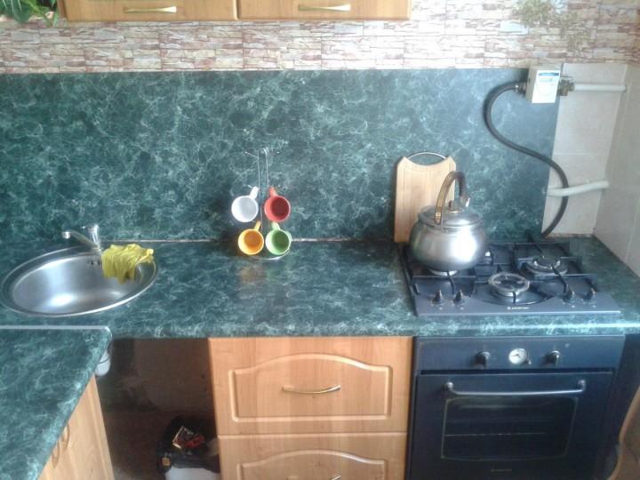 а вот моя маленькая хрущёвочка...моя любимая кухня...