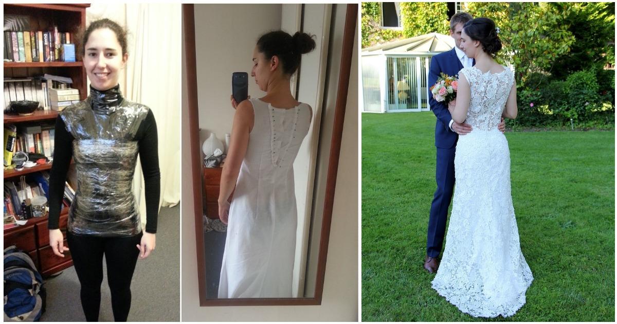Дизайнерское платье к свадьбе своими руками — реальность, позволившая блистать