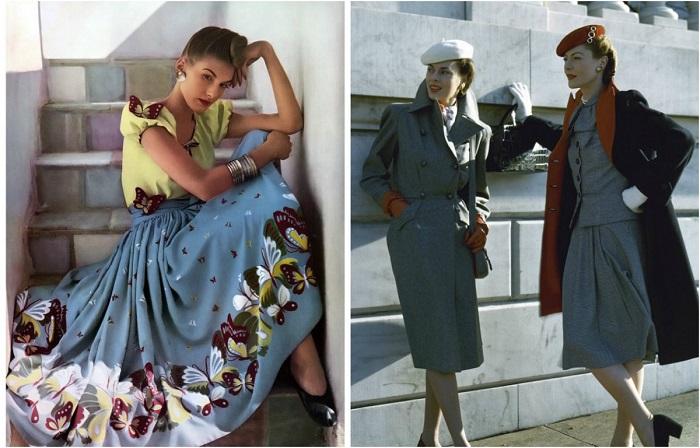 Гламурные красавицы на страницах глянцевых журналов 1940-х