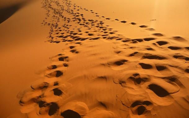 Двое в пустыне: мудрая притча