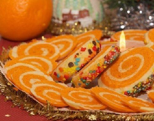 Печенье «Новогодний серпантин»
