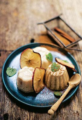 Как приготовить пудинг из яблок