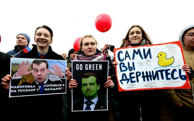 Медведев испугался отставки