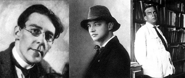 Самые близкие мужчины в жизни Ахматовой (слева направо): Вольдемар Шилейко, Николай Пунин, Владимир Гаршин
