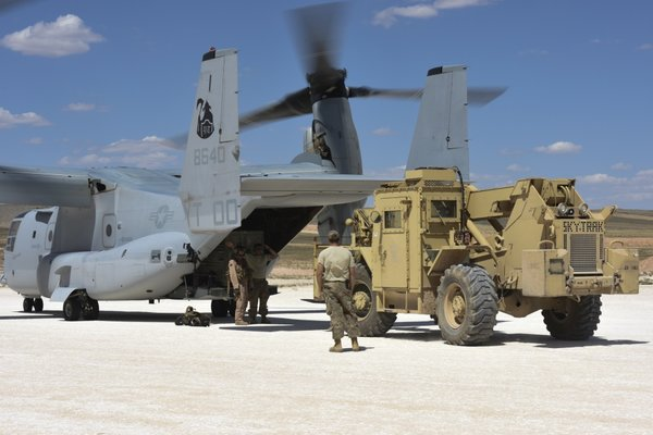 В Сирии обнаружена крупная партия военных вертолётов США