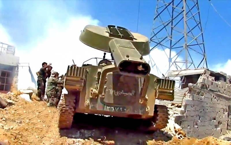 «Змей Горыныч» выжигает боевиков в Дамаске