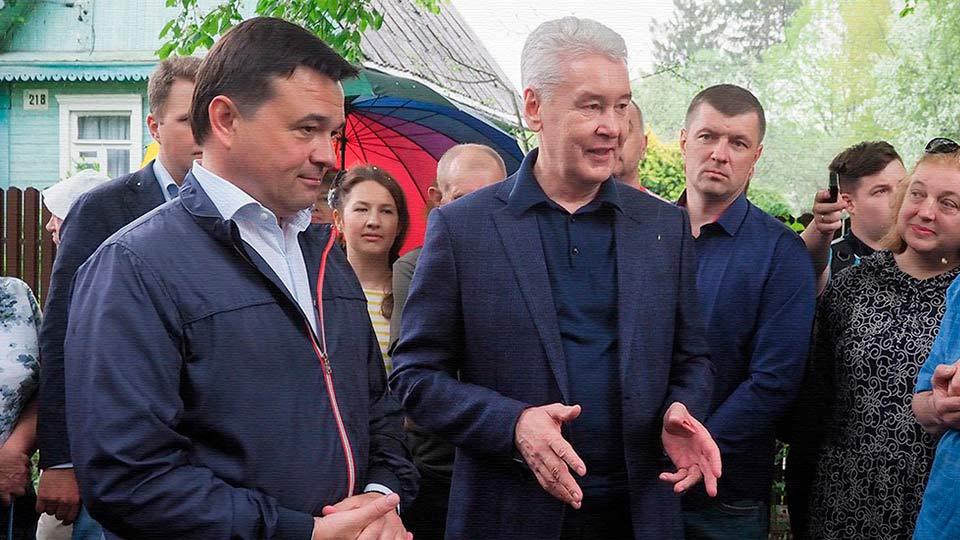 Собянин и Воробьёв победили …