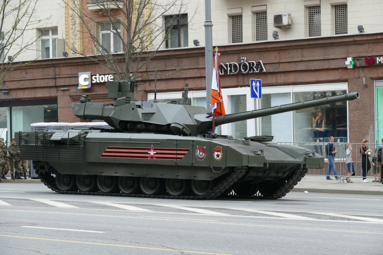 Главный танк парада