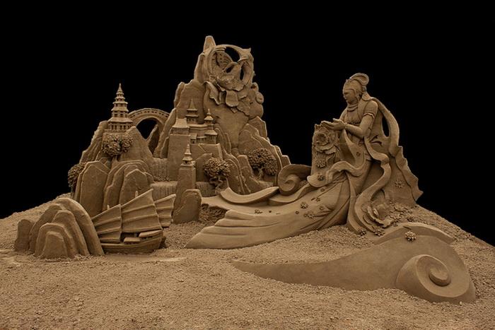 Ода недолговечности: песчаные скульптуры Джоо Хенг Тана (Joo Heng Tan)