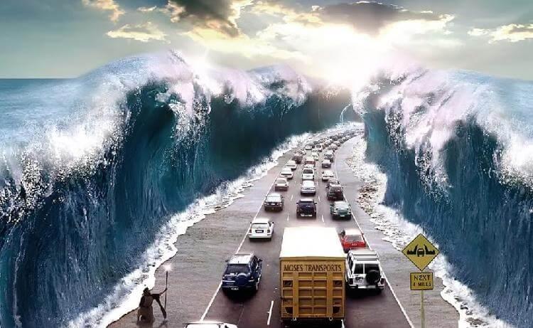 Моисеево чудо на острове Чин…