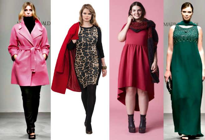 Мода для полных осень-зима 2014-2015