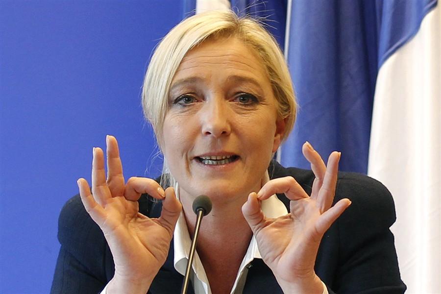 Марин Ле Пен обвинила президента Франции в отсутствии политической смелости