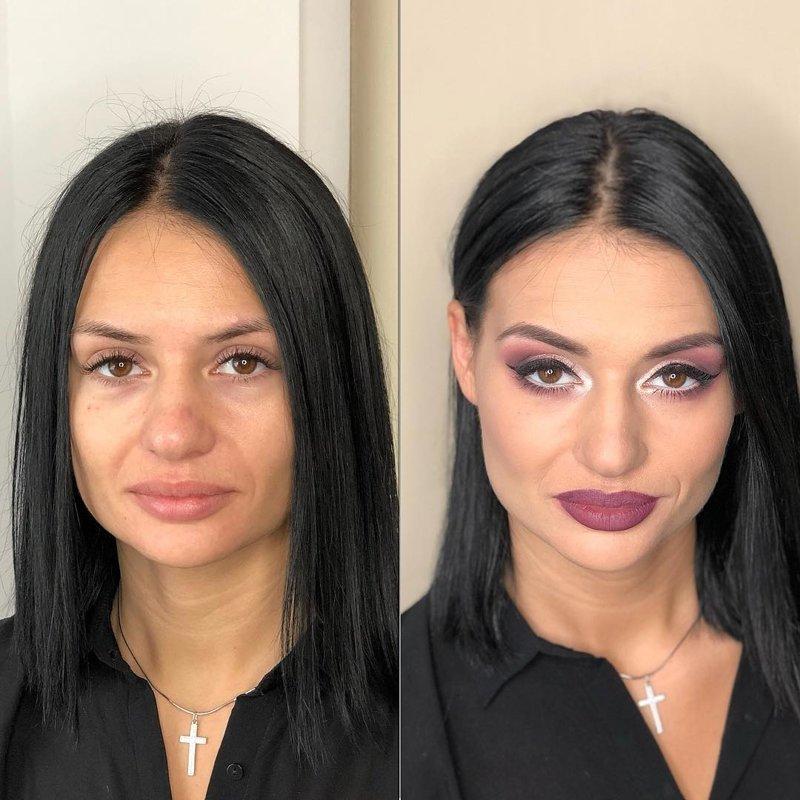 Но ведь и мужчинам в этой ситуации тоже непросто девушки, до и после, макияж, мужчины и женщины, отношения