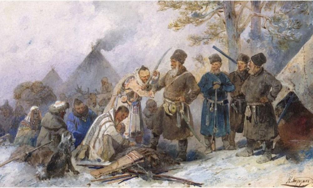 Сибирь была присоединена к Руси до Ермака
