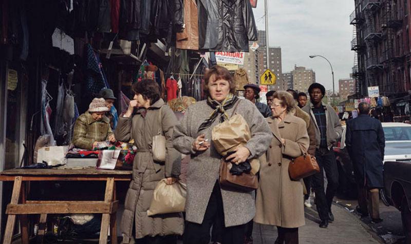 Нью-Йорк 80-х годов, подозрительно напоминающий жизнь в СССР