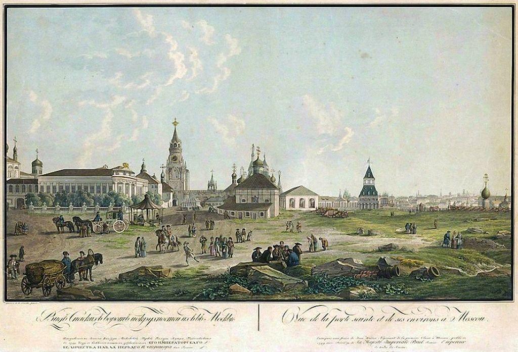Стендаль в наполеоновской армии: описание Москвы до пожара 1812