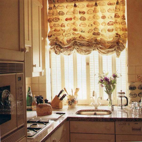 Шторы для кухни. Идеи