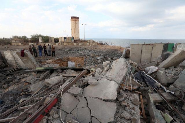 Авиация Израиля атаковал 20 целей в секторе Газа