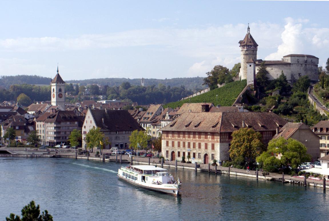 Рейнский водопад – теплое воспоминание о холодной Швейцарии