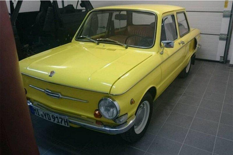 Отреставрированный старый «Запорожец» выставили на продажу в Германии