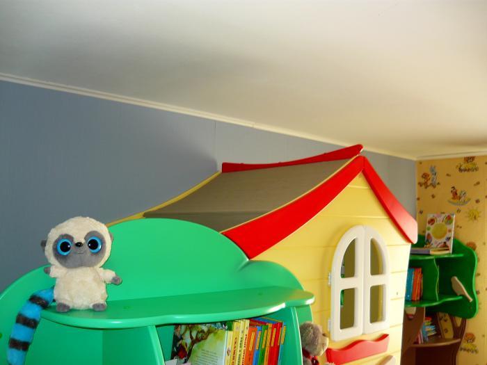 """Двухъярусная кровать """"Домик на дереве"""""""