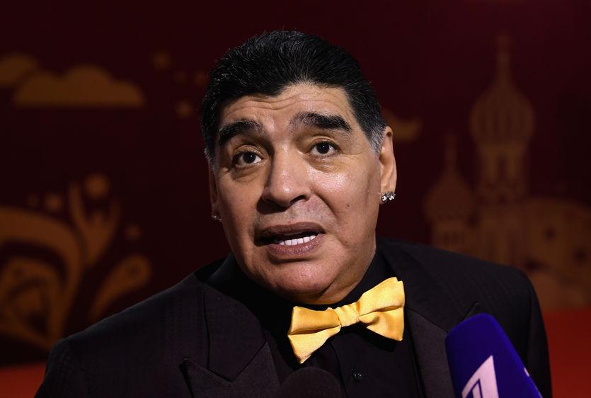 Марадоне запретили въезд в С…