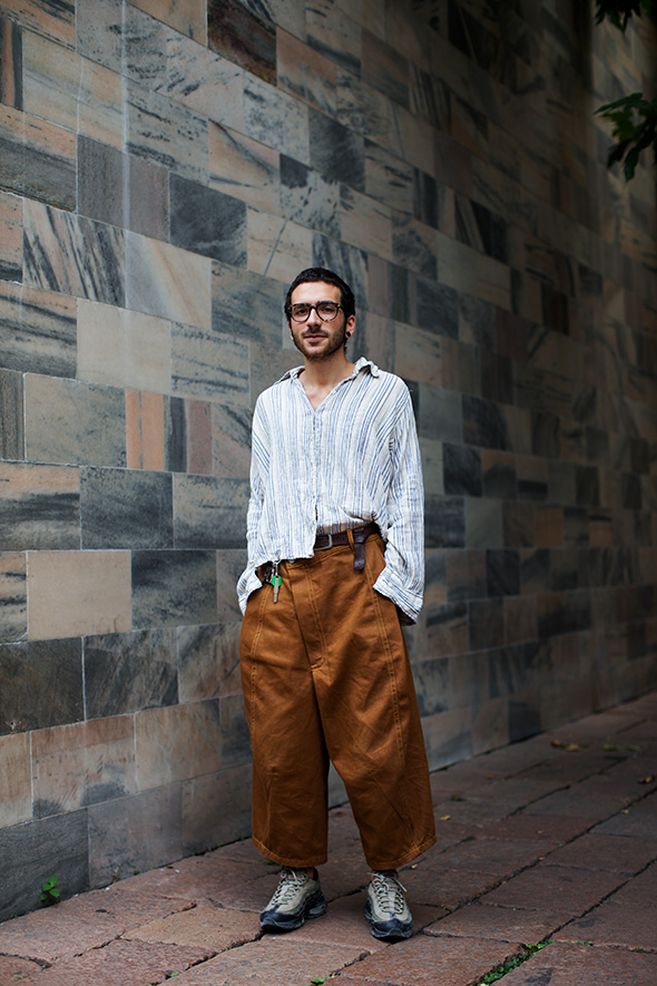 On the Street…Via Croce Rossa, Milan