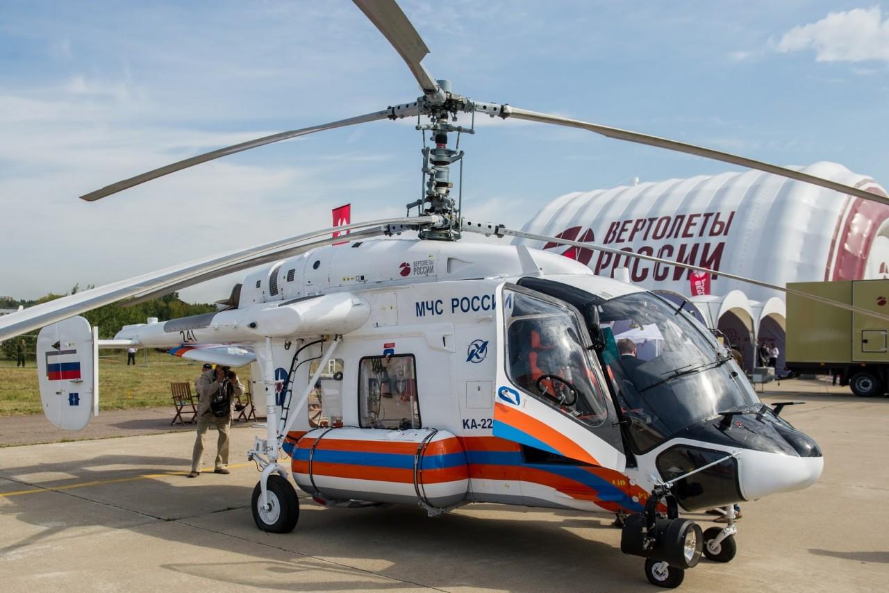 «Вертолеты России» запустили производство опытной партии Ка-226Т