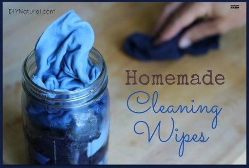 Как сделать многоразовые чистящие салфетки для уборки дома