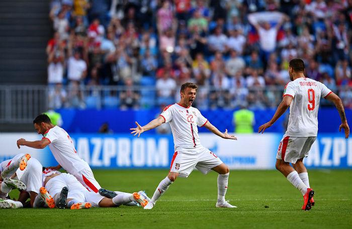Сборная Сербии выиграла у Коста-Рики