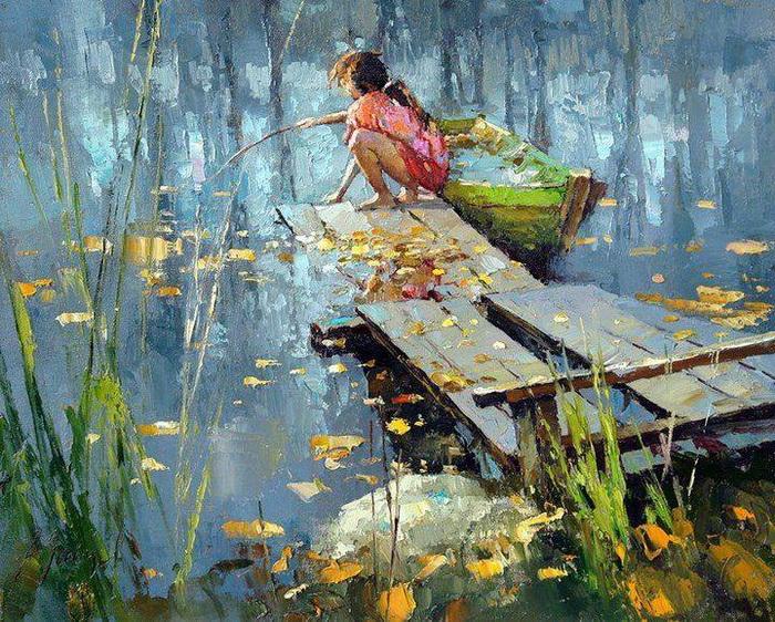 В лучших традициях импрессионизма — щедрое и красочное творчество Алексея Зайцева