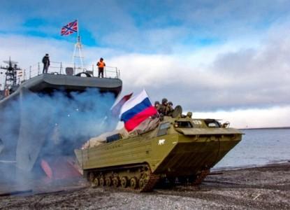 Наглядное наращивание оборонительных сил на рубежах России