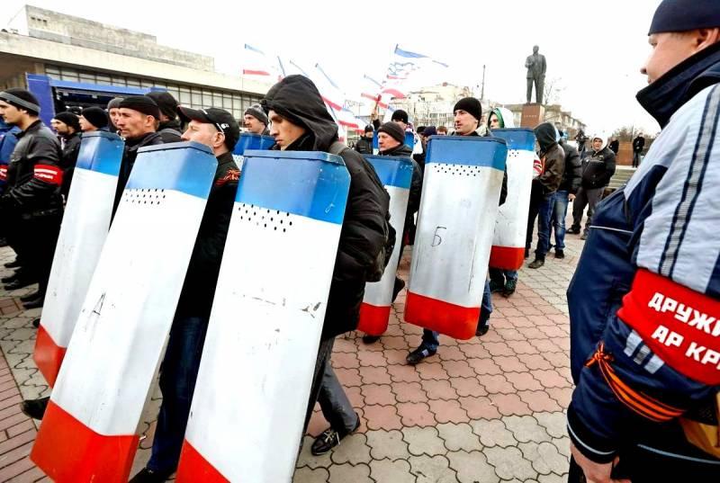 Как спасали Крым от нашестви…