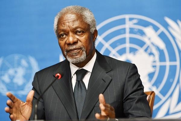 Экс-генсек ООН Кофи Аннан уш…