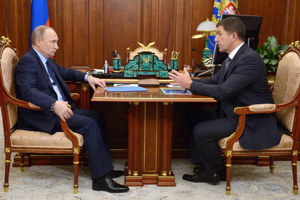 Путину рассказали про умные дома