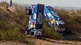 Вот дают наши ребята! Дакар 2018. КАМАЗ обогнал соперника на скорости 208 км/ч, как стоячего!