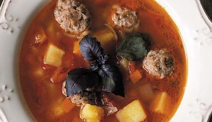 Нежнейший суп с фрикадельками, такой сытный и вкусный суп