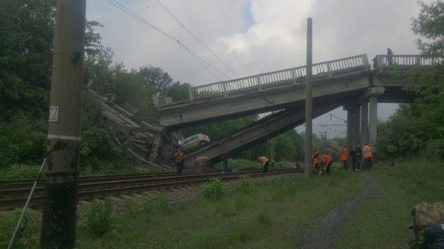 О разрушении моста в ЛНР