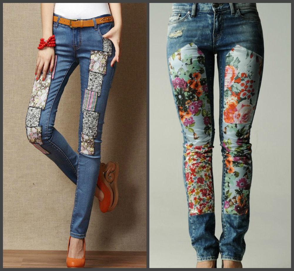 Дизайнерские джинсы женские своими руками 86