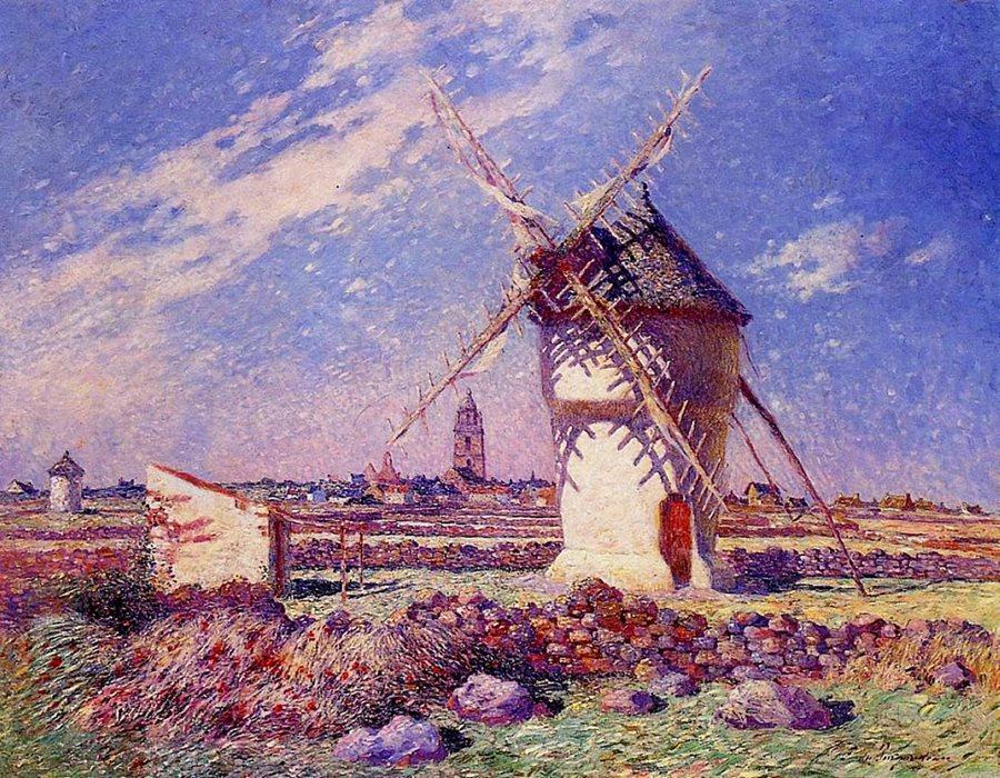 Цвет прежде всего остального… Французский художник Фердинанд дю Пюигодо