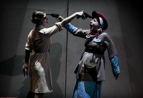 Недовольный «зритель» остановил мюзикл «Ленька Пантелеев» на «Европейской весне»