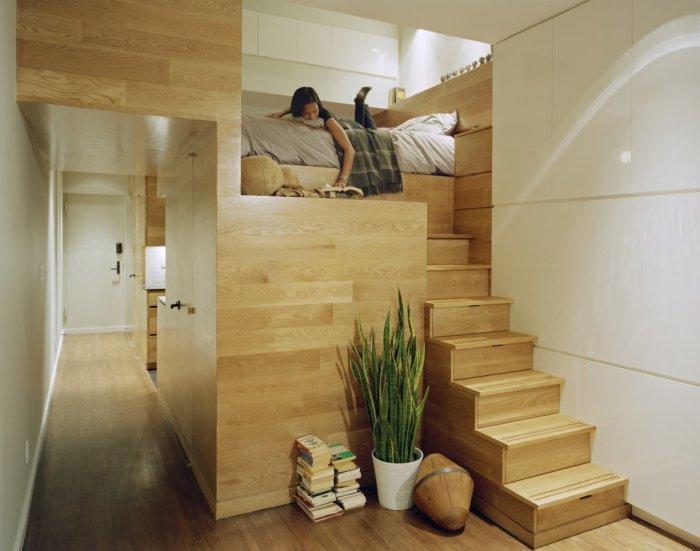 Квартира, спроектированная дизайнерами Jordan Parnass Digital Architecture.