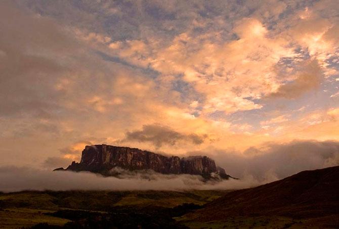 Загадочная и прекрасная гора Рорайма