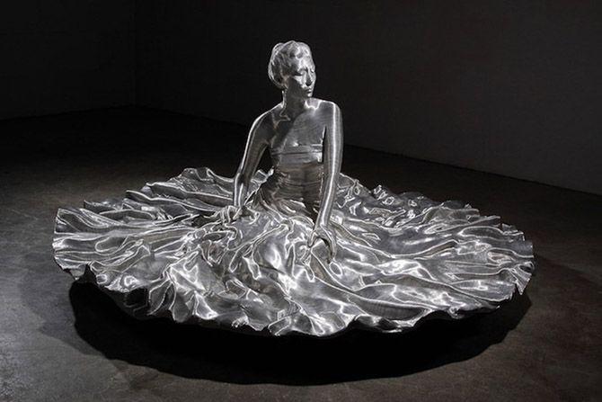 Алюминиевые шедевры из проволоки и стекловолокна