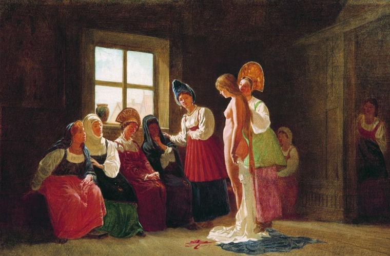 Какой была супружеская жизнь на Руси