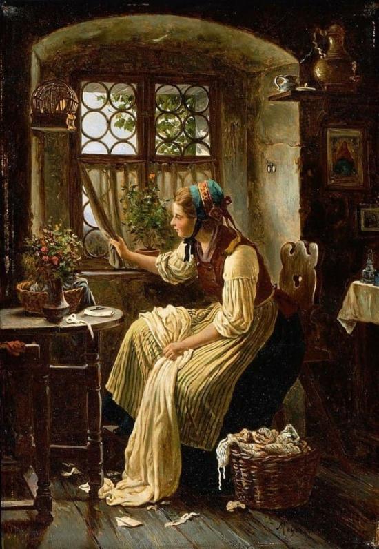 художник Иоганн Георг Майер фон Бремен (Johann Georg Meyer von Bremen) картины – 18